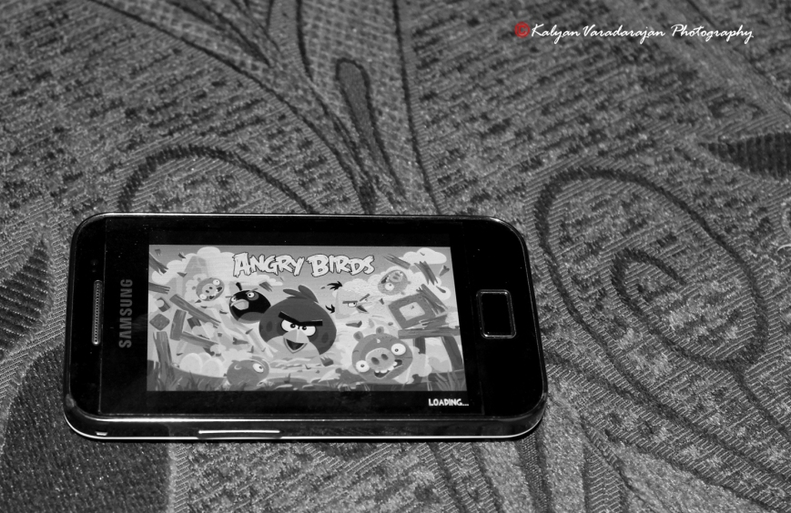 Angry Birds! :)